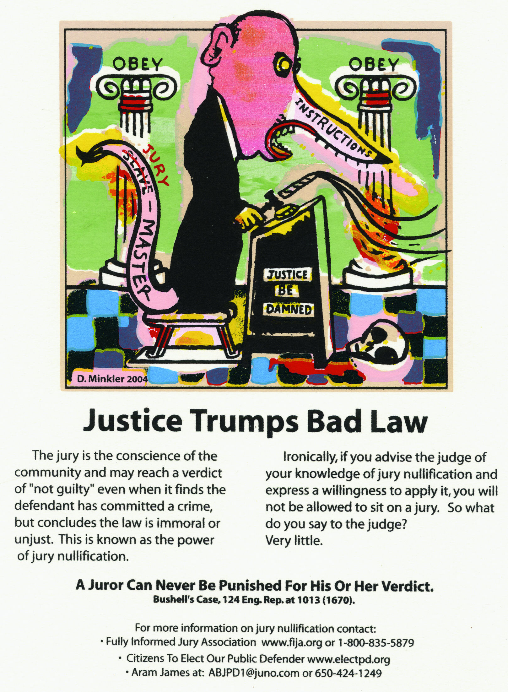 Justice Trumps Bad Law