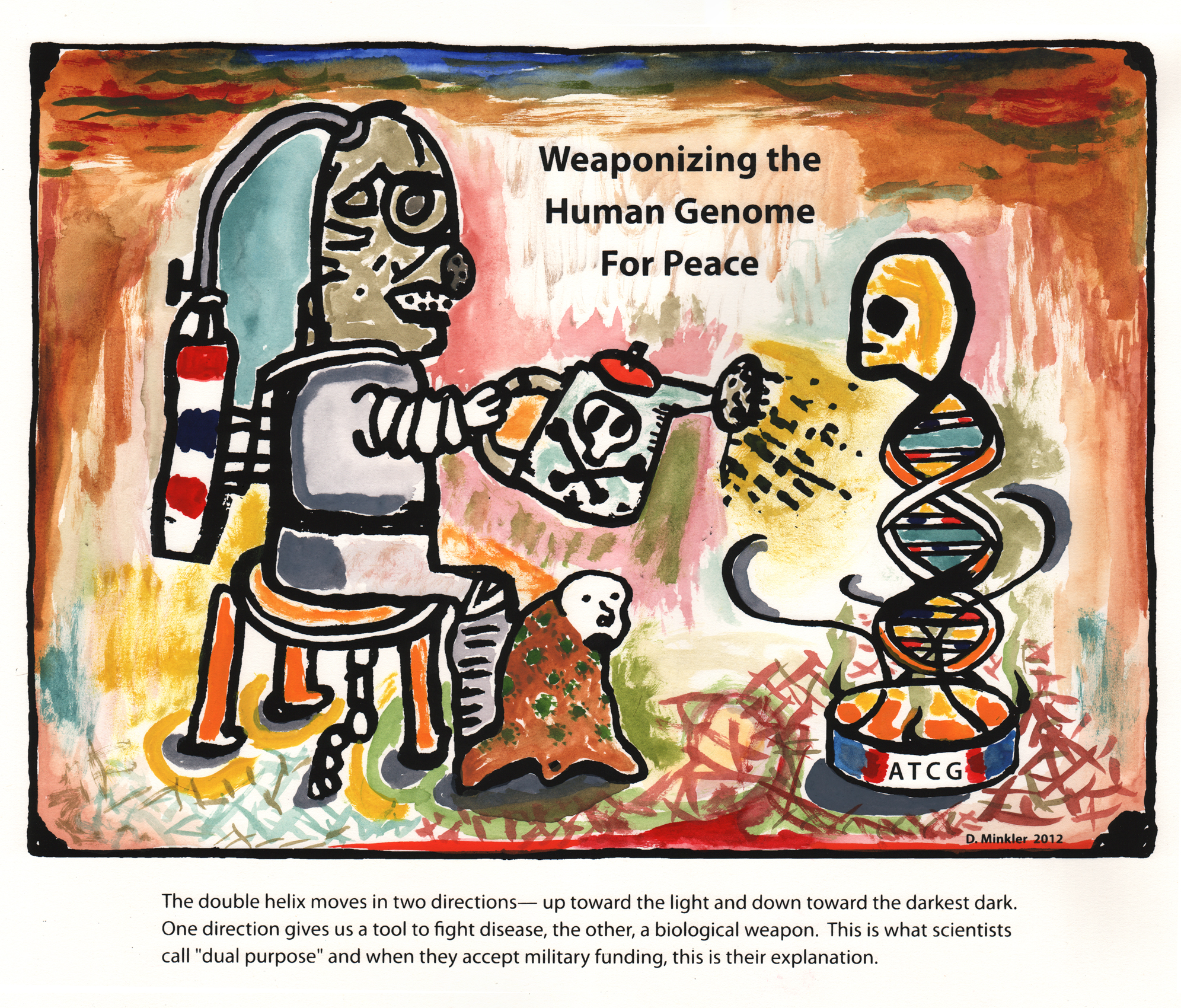 Weaponizing the Human Genome