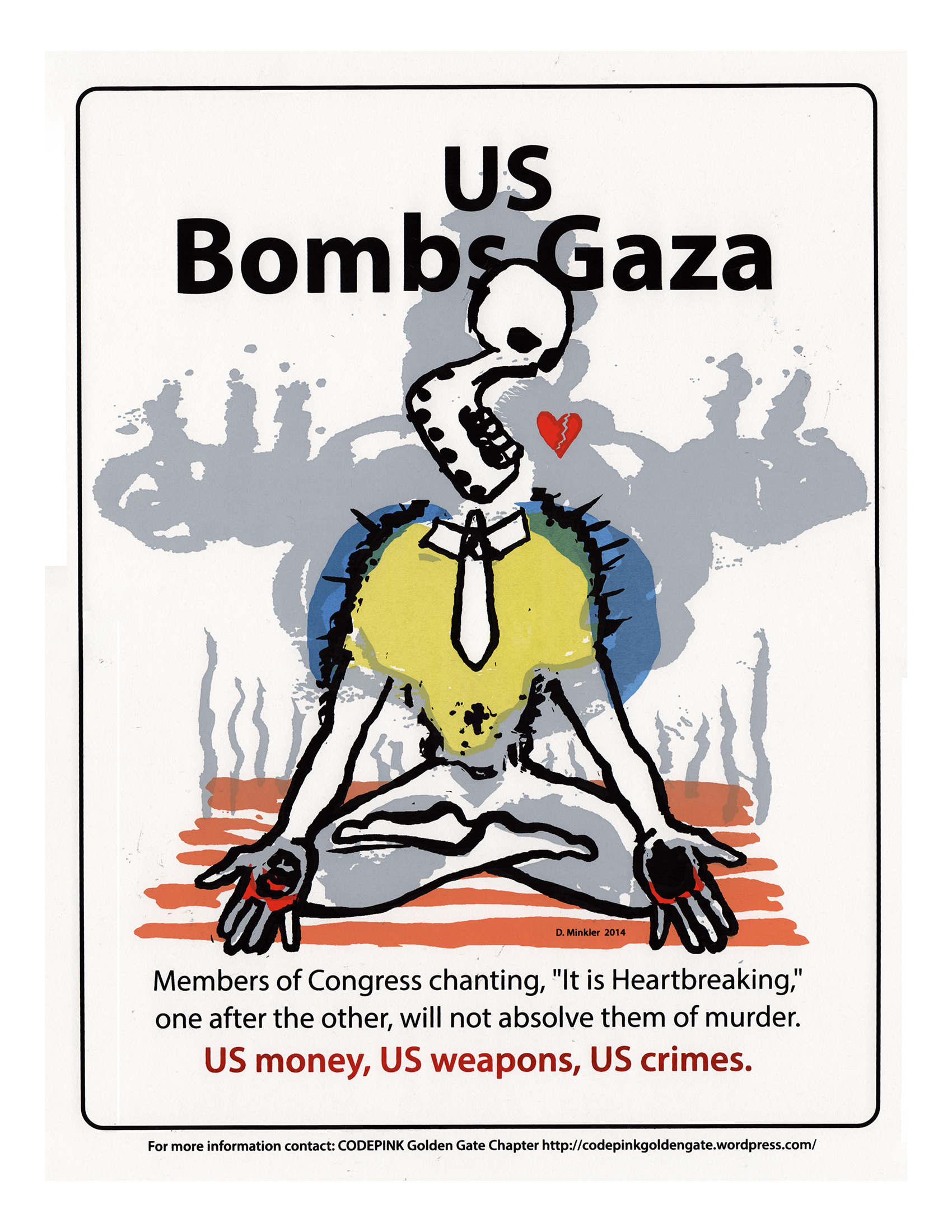 US Bombs Gaza